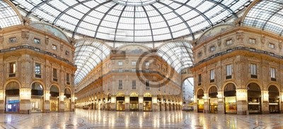 Постер Милан Милан, галерея Vittorio Emanuele II, ИталияМилан<br>Постер на холсте или бумаге. Любого нужного вам размера. В раме или без. Подвес в комплекте. Трехслойная надежная упаковка. Доставим в любую точку России. Вам осталось только повесить картину на стену!<br>