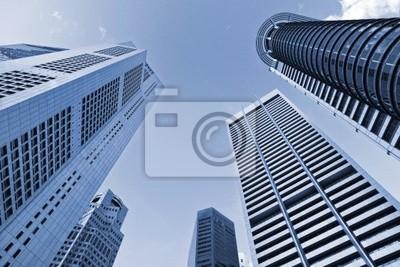 Постер Сингапур Городской пейзажСингапур<br>Постер на холсте или бумаге. Любого нужного вам размера. В раме или без. Подвес в комплекте. Трехслойная надежная упаковка. Доставим в любую точку России. Вам осталось только повесить картину на стену!<br>