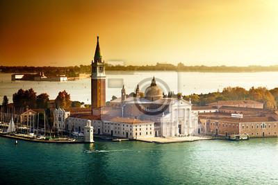 Постер Венеция Вид на остров Сан-Джорджо, Венеция, ИталияВенеция<br>Постер на холсте или бумаге. Любого нужного вам размера. В раме или без. Подвес в комплекте. Трехслойная надежная упаковка. Доставим в любую точку России. Вам осталось только повесить картину на стену!<br>