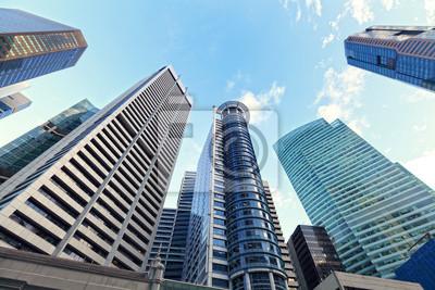 Постер Сингапур Офисные зданияСингапур<br>Постер на холсте или бумаге. Любого нужного вам размера. В раме или без. Подвес в комплекте. Трехслойная надежная упаковка. Доставим в любую точку России. Вам осталось только повесить картину на стену!<br>