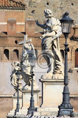 Постер Ватикан Мост Святого Ангела в РимеВатикан<br>Постер на холсте или бумаге. Любого нужного вам размера. В раме или без. Подвес в комплекте. Трехслойная надежная упаковка. Доставим в любую точку России. Вам осталось только повесить картину на стену!<br>