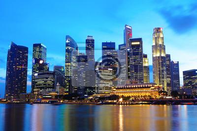 Постер Сингапур Сингапур cityscape, 30x20 см, на бумагеСингапур<br>Постер на холсте или бумаге. Любого нужного вам размера. В раме или без. Подвес в комплекте. Трехслойная надежная упаковка. Доставим в любую точку России. Вам осталось только повесить картину на стену!<br>