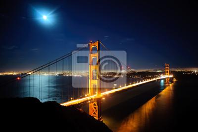 Постер Сан-Франциско Золотые Ворота BridgСан-Франциско<br>Постер на холсте или бумаге. Любого нужного вам размера. В раме или без. Подвес в комплекте. Трехслойная надежная упаковка. Доставим в любую точку России. Вам осталось только повесить картину на стену!<br>