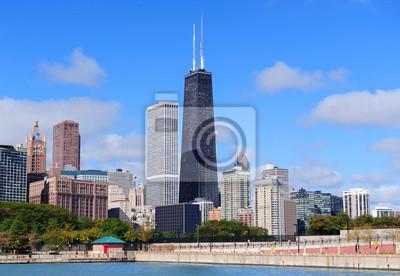 Постер Города и карты Чикаго, 29x20 см, на бумагеЧикаго<br>Постер на холсте или бумаге. Любого нужного вам размера. В раме или без. Подвес в комплекте. Трехслойная надежная упаковка. Доставим в любую точку России. Вам осталось только повесить картину на стену!<br>