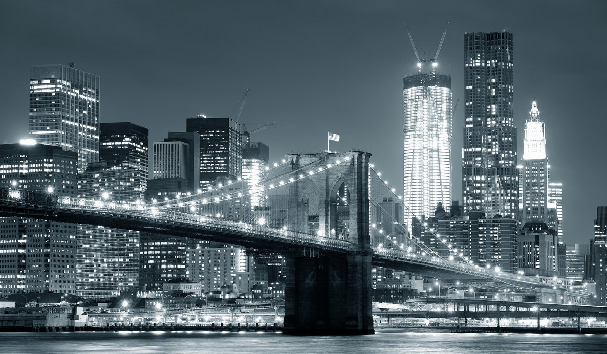 Постер Нью-Йорк Нью-Йорк Бруклинский МостНью-Йорк<br>Постер на холсте или бумаге. Любого нужного вам размера. В раме или без. Подвес в комплекте. Трехслойная надежная упаковка. Доставим в любую точку России. Вам осталось только повесить картину на стену!<br>