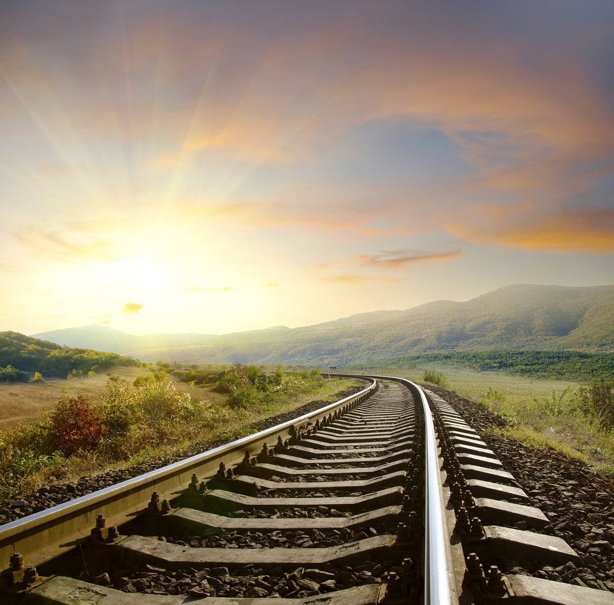 Постер Железная дорога