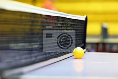Постер Настольный теннис Чистый и шарик для настольного теннисаНастольный теннис<br>Постер на холсте или бумаге. Любого нужного вам размера. В раме или без. Подвес в комплекте. Трехслойная надежная упаковка. Доставим в любую точку России. Вам осталось только повесить картину на стену!<br>