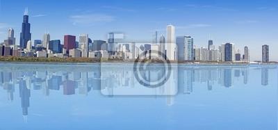 Постер Чикаго Chicago Downtown SkylineЧикаго<br>Постер на холсте или бумаге. Любого нужного вам размера. В раме или без. Подвес в комплекте. Трехслойная надежная упаковка. Доставим в любую точку России. Вам осталось только повесить картину на стену!<br>