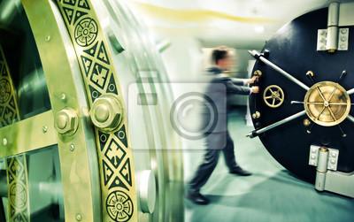 Постер Банк, финансовое учреждение