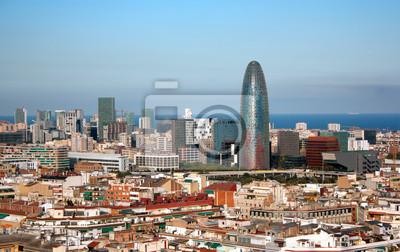 Постер Барселона Вид Барселона, ИспанияБарселона<br>Постер на холсте или бумаге. Любого нужного вам размера. В раме или без. Подвес в комплекте. Трехслойная надежная упаковка. Доставим в любую точку России. Вам осталось только повесить картину на стену!<br>