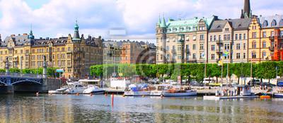 Постер Стокгольм Панорама СтокгольмаСтокгольм<br>Постер на холсте или бумаге. Любого нужного вам размера. В раме или без. Подвес в комплекте. Трехслойная надежная упаковка. Доставим в любую точку России. Вам осталось только повесить картину на стену!<br>