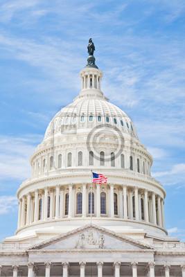 Постер Вашингтон США Капитолия в Вашингтоне, округ КолумбияВашингтон<br>Постер на холсте или бумаге. Любого нужного вам размера. В раме или без. Подвес в комплекте. Трехслойная надежная упаковка. Доставим в любую точку России. Вам осталось только повесить картину на стену!<br>