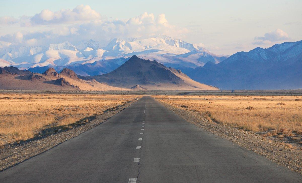 Постер Монголия Дорога в горах МонголииМонголия<br>Постер на холсте или бумаге. Любого нужного вам размера. В раме или без. Подвес в комплекте. Трехслойная надежная упаковка. Доставим в любую точку России. Вам осталось только повесить картину на стену!<br>