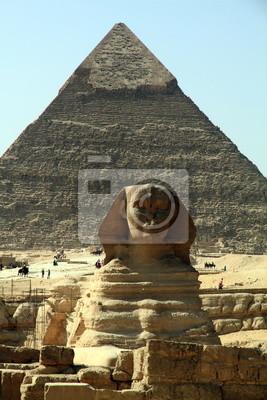 Постер Архитектура Сфинкс, Пирамиды Гиза, Египет, 20x30 см, на бумагеСфинксы<br>Постер на холсте или бумаге. Любого нужного вам размера. В раме или без. Подвес в комплекте. Трехслойная надежная упаковка. Доставим в любую точку России. Вам осталось только повесить картину на стену!<br>