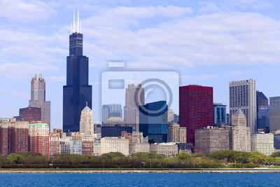 Постер Города и карты Chicago Downtown, 30x20 см, на бумагеЧикаго<br>Постер на холсте или бумаге. Любого нужного вам размера. В раме или без. Подвес в комплекте. Трехслойная надежная упаковка. Доставим в любую точку России. Вам осталось только повесить картину на стену!<br>