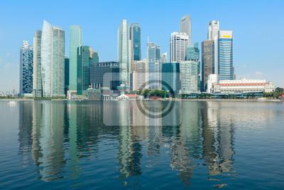 Постер Города и карты Сингапур skyline, 30x20 см, на бумагеСингапур<br>Постер на холсте или бумаге. Любого нужного вам размера. В раме или без. Подвес в комплекте. Трехслойная надежная упаковка. Доставим в любую точку России. Вам осталось только повесить картину на стену!<br>