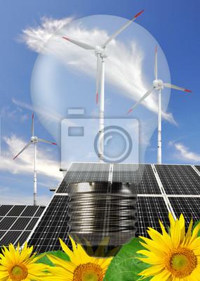 Постер Подсолнухи Лампы с солнечной энергией панели и ветряные турбиныПодсолнухи<br>Постер на холсте или бумаге. Любого нужного вам размера. В раме или без. Подвес в комплекте. Трехслойная надежная упаковка. Доставим в любую точку России. Вам осталось только повесить картину на стену!<br>