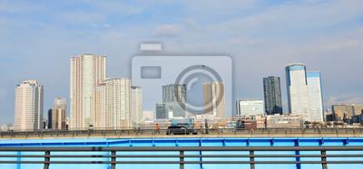 Постер Токио Городской пейзажТокио<br>Постер на холсте или бумаге. Любого нужного вам размера. В раме или без. Подвес в комплекте. Трехслойная надежная упаковка. Доставим в любую точку России. Вам осталось только повесить картину на стену!<br>