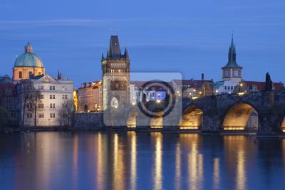 Постер Прага Прага, Карлов мостПрага<br>Постер на холсте или бумаге. Любого нужного вам размера. В раме или без. Подвес в комплекте. Трехслойная надежная упаковка. Доставим в любую точку России. Вам осталось только повесить картину на стену!<br>
