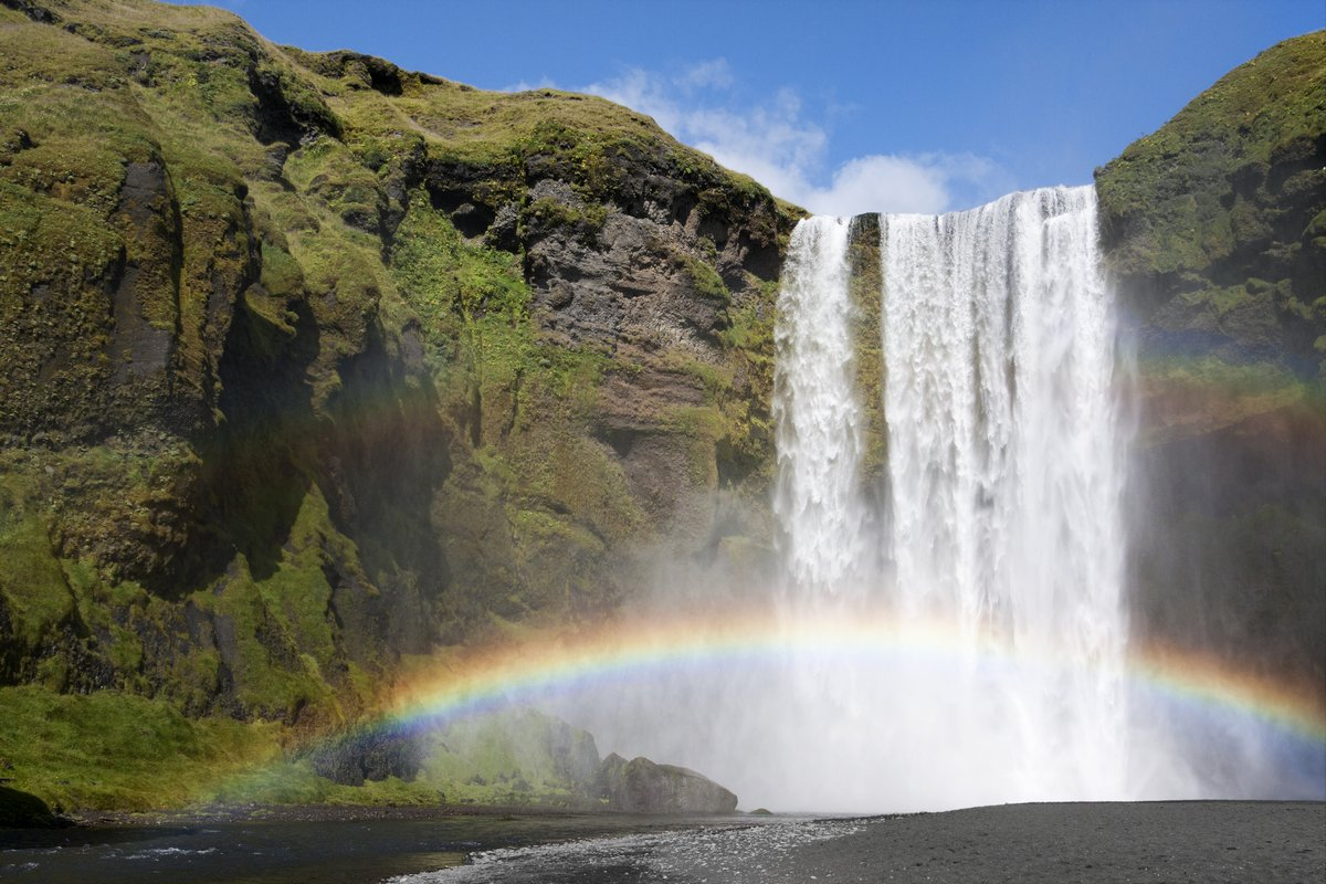 Двойная Радуга у водопада Skogafoss, Исландия, 30x20 см, на бумагеВодопады<br>Постер на холсте или бумаге. Любого нужного вам размера. В раме или без. Подвес в комплекте. Трехслойная надежная упаковка. Доставим в любую точку России. Вам осталось только повесить картину на стену!<br>