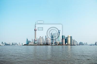 Постер Шанхай Панорамный вид на Шанхай skylineШанхай<br>Постер на холсте или бумаге. Любого нужного вам размера. В раме или без. Подвес в комплекте. Трехслойная надежная упаковка. Доставим в любую точку России. Вам осталось только повесить картину на стену!<br>