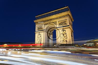 Постер Париж Триумфальная арка, 30x20 см, на бумагеПариж<br>Постер на холсте или бумаге. Любого нужного вам размера. В раме или без. Подвес в комплекте. Трехслойная надежная упаковка. Доставим в любую точку России. Вам осталось только повесить картину на стену!<br>
