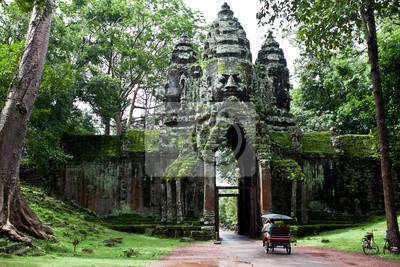 Камбоджийский храм, 30x20 см, на бумагеКамбоджа<br>Постер на холсте или бумаге. Любого нужного вам размера. В раме или без. Подвес в комплекте. Трехслойная надежная упаковка. Доставим в любую точку России. Вам осталось только повесить картину на стену!<br>