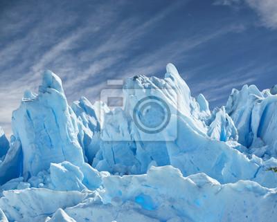 Постер Пейзаж горный Перито Морено ледника.Пейзаж горный<br>Постер на холсте или бумаге. Любого нужного вам размера. В раме или без. Подвес в комплекте. Трехслойная надежная упаковка. Доставим в любую точку России. Вам осталось только повесить картину на стену!<br>