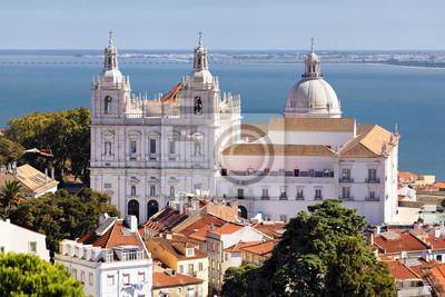 Постер Португалия Церковь Св. VicentПортугалия<br>Постер на холсте или бумаге. Любого нужного вам размера. В раме или без. Подвес в комплекте. Трехслойная надежная упаковка. Доставим в любую точку России. Вам осталось только повесить картину на стену!<br>