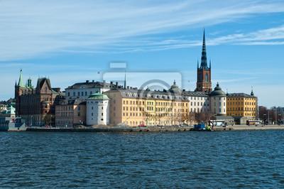Постер Стокгольм СтокгольмСтокгольм<br>Постер на холсте или бумаге. Любого нужного вам размера. В раме или без. Подвес в комплекте. Трехслойная надежная упаковка. Доставим в любую точку России. Вам осталось только повесить картину на стену!<br>