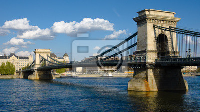 Постер Будапешт Будапешт, Цепной Мост На Реке ДунайБудапешт<br>Постер на холсте или бумаге. Любого нужного вам размера. В раме или без. Подвес в комплекте. Трехслойная надежная упаковка. Доставим в любую точку России. Вам осталось только повесить картину на стену!<br>