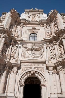 Постер Мехико Церковь ла-Соледад, Оахаке (Мексика)Мехико<br>Постер на холсте или бумаге. Любого нужного вам размера. В раме или без. Подвес в комплекте. Трехслойная надежная упаковка. Доставим в любую точку России. Вам осталось только повесить картину на стену!<br>