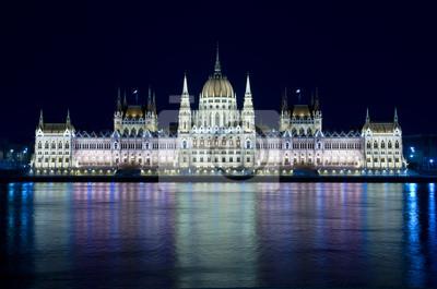 Постер Будапешт Будапешт: Ночной Вид Венгерского ПарламентаБудапешт<br>Постер на холсте или бумаге. Любого нужного вам размера. В раме или без. Подвес в комплекте. Трехслойная надежная упаковка. Доставим в любую точку России. Вам осталось только повесить картину на стену!<br>