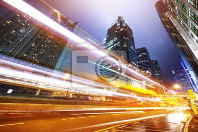 Постер Города и карты Трафик в Гонконге на ночь, 30x20 см, на бумагеГонконг<br>Постер на холсте или бумаге. Любого нужного вам размера. В раме или без. Подвес в комплекте. Трехслойная надежная упаковка. Доставим в любую точку России. Вам осталось только повесить картину на стену!<br>