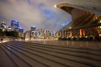 Постер Сидней Sydney opera house и горизонт на ночьСидней<br>Постер на холсте или бумаге. Любого нужного вам размера. В раме или без. Подвес в комплекте. Трехслойная надежная упаковка. Доставим в любую точку России. Вам осталось только повесить картину на стену!<br>