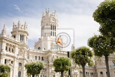 Постер Мадрид City Hall, МадридМадрид<br>Постер на холсте или бумаге. Любого нужного вам размера. В раме или без. Подвес в комплекте. Трехслойная надежная упаковка. Доставим в любую точку России. Вам осталось только повесить картину на стену!<br>
