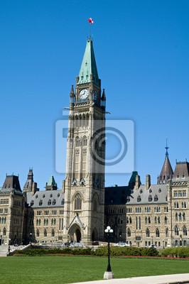 Постер Оттава Здание парламента, КанадаОттава<br>Постер на холсте или бумаге. Любого нужного вам размера. В раме или без. Подвес в комплекте. Трехслойная надежная упаковка. Доставим в любую точку России. Вам осталось только повесить картину на стену!<br>
