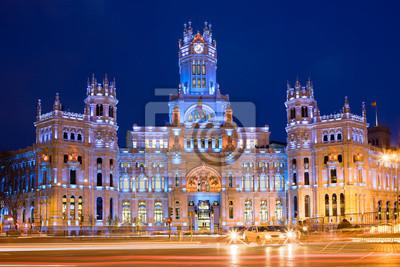 Palacio de и связь в Мадриде, 30x20 см, на бумагеМадрид<br>Постер на холсте или бумаге. Любого нужного вам размера. В раме или без. Подвес в комплекте. Трехслойная надежная упаковка. Доставим в любую точку России. Вам осталось только повесить картину на стену!<br>