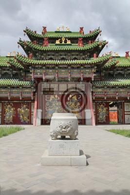 Постер Монголия Старый Восточный дворецМонголия<br>Постер на холсте или бумаге. Любого нужного вам размера. В раме или без. Подвес в комплекте. Трехслойная надежная упаковка. Доставим в любую точку России. Вам осталось только повесить картину на стену!<br>