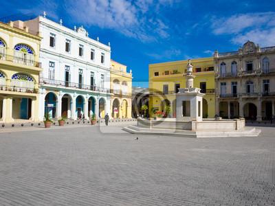 На Старой Площади в Гаване, Куба, 27x20 см, на бумагеКуба<br>Постер на холсте или бумаге. Любого нужного вам размера. В раме или без. Подвес в комплекте. Трехслойная надежная упаковка. Доставим в любую точку России. Вам осталось только повесить картину на стену!<br>