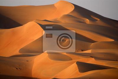 Постер Пейзаж песчаный Дюны в Абу-ДабиПейзаж песчаный<br>Постер на холсте или бумаге. Любого нужного вам размера. В раме или без. Подвес в комплекте. Трехслойная надежная упаковка. Доставим в любую точку России. Вам осталось только повесить картину на стену!<br>