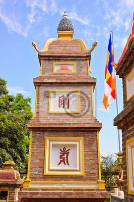 Постер Ханой Tran Quoc храм в Ханой, ВьетнамХаной<br>Постер на холсте или бумаге. Любого нужного вам размера. В раме или без. Подвес в комплекте. Трехслойная надежная упаковка. Доставим в любую точку России. Вам осталось только повесить картину на стену!<br>