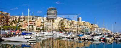 Постер Монако Панорамный вид на Монте-Карло.Монако<br>Постер на холсте или бумаге. Любого нужного вам размера. В раме или без. Подвес в комплекте. Трехслойная надежная упаковка. Доставим в любую точку России. Вам осталось только повесить картину на стену!<br>