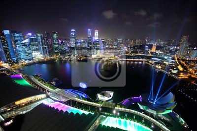Постер Сингапур Сингапур ночьюСингапур<br>Постер на холсте или бумаге. Любого нужного вам размера. В раме или без. Подвес в комплекте. Трехслойная надежная упаковка. Доставим в любую точку России. Вам осталось только повесить картину на стену!<br>