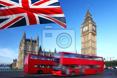 Постер Англия Биг-Бен с городской автобус и флаг Англии, ЛондонАнглия<br>Постер на холсте или бумаге. Любого нужного вам размера. В раме или без. Подвес в комплекте. Трехслойная надежная упаковка. Доставим в любую точку России. Вам осталось только повесить картину на стену!<br>