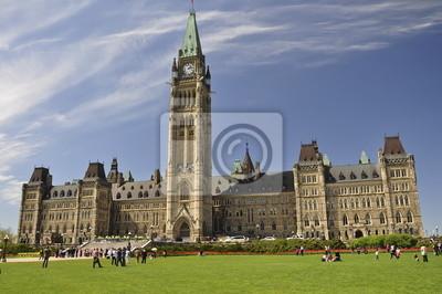 Постер Оттава Канадский Здание парламента в ОттавеОттава<br>Постер на холсте или бумаге. Любого нужного вам размера. В раме или без. Подвес в комплекте. Трехслойная надежная упаковка. Доставим в любую точку России. Вам осталось только повесить картину на стену!<br>