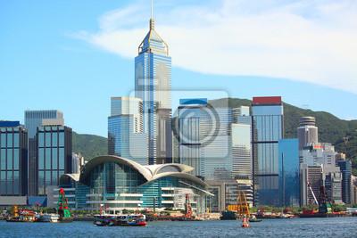Постер Гонконг Гонконг город на деньГонконг<br>Постер на холсте или бумаге. Любого нужного вам размера. В раме или без. Подвес в комплекте. Трехслойная надежная упаковка. Доставим в любую точку России. Вам осталось только повесить картину на стену!<br>
