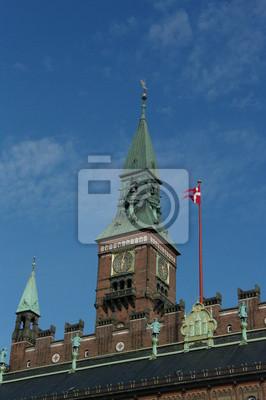 Постер Копенгаген Rathaus в Копенгаген 1Копенгаген<br>Постер на холсте или бумаге. Любого нужного вам размера. В раме или без. Подвес в комплекте. Трехслойная надежная упаковка. Доставим в любую точку России. Вам осталось только повесить картину на стену!<br>