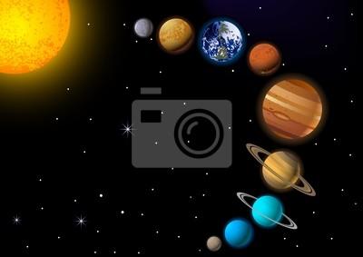 Постер Космос детям Солнечной системыКосмос детям<br>Постер на холсте или бумаге. Любого нужного вам размера. В раме или без. Подвес в комплекте. Трехслойная надежная упаковка. Доставим в любую точку России. Вам осталось только повесить картину на стену!<br>