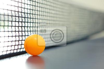 Постер Настольный теннис Оранжевый шарик для настольного теннисаНастольный теннис<br>Постер на холсте или бумаге. Любого нужного вам размера. В раме или без. Подвес в комплекте. Трехслойная надежная упаковка. Доставим в любую точку России. Вам осталось только повесить картину на стену!<br>